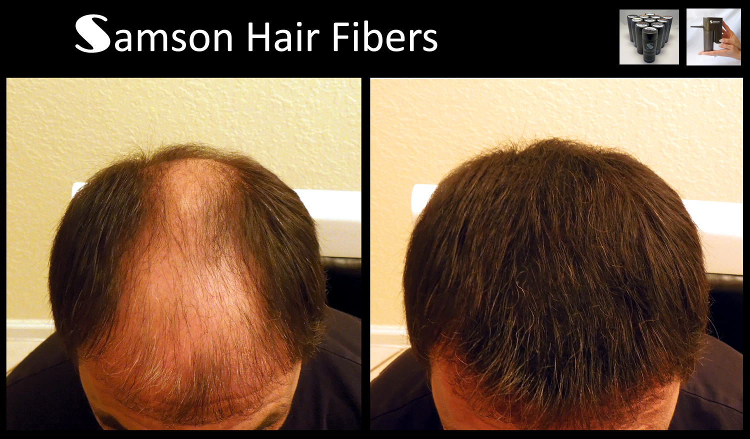 hair fiber refill by Samson