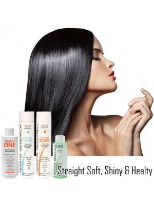INVERTO ONE LARGE SET Formaldehyde-Free  Brazilian Keratin Hair Blowout Professional grade Keratin Treatment Professional Results at home