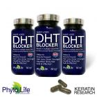 HAIR LOSS DHT BLOCKER NATURAL SUPPLEMENT 90 DAY SUPPLY WITH SAW PALMETTO PURE OIL EXTRACT