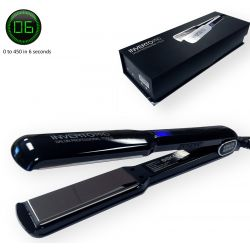 "Inverto Pro Tools Flat Iron hair straightener 1.5"" 450F Fast Heating 6 seconds"