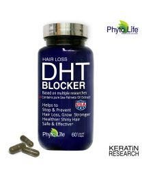HAIR LOSS DHT BLOCKER NATURAL SUPPLEMENT WITH SAW PALMETTO PURE OIL EXTRACT