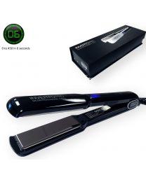 "Inverto Pro Tools Flat Iron hair straightener 1.5"" 450F Fast Heating 6 seconds"