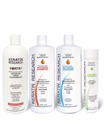 Keratin Forte XXL set Brazilian Keratin Treatment Enhanced and Proven Formulation