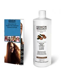 Original Formula 1000ml Keratin Hair Treatment With Moroccan Argan oil