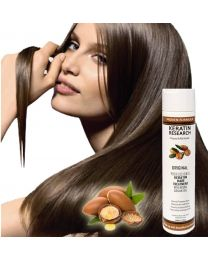 The Original Keratin Hair Treatment 300ml with Argan oil instantly straightens, smooths, repairs, conditions, and strengthens the hair