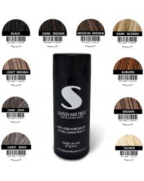 Samson Hair Loss concealer building fibers Refillable CONTAINER 25 grams fits Electronic fiber Sprayer