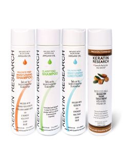 Original Formula Large Set 300ml Keratin Hair Treatment With Moroccan Argan oil 4 Bottles