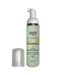 Eyelid & Eyelash Extension Natural Foaming eyelash Shampoo Cleanser. Oil-Free Fragrance-free Alcohol-free Wash for Extensions and Natural Lashes Paraben & Sulfate Free Safe Makeup & Mascara wash 100ml