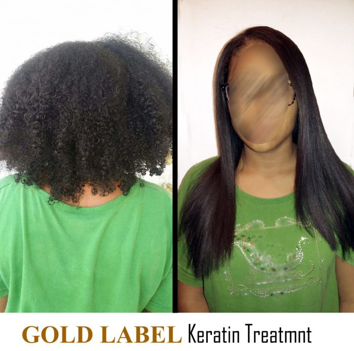 Gold Label Professional Keratin Treatment Super Enhanced Formula
