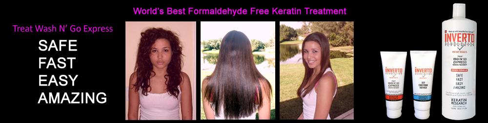 Formaldehyde Free Keratin Treatment